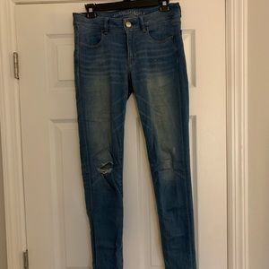 Size 10 American eagle jeggings
